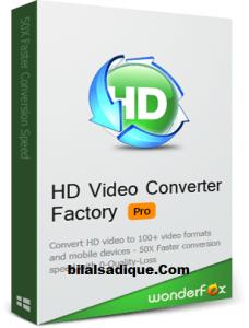 WonderFox HD Video Converter Factory Pro 23 Crack With Keygen Free Download