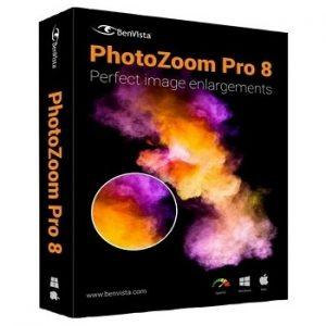 Benvista PhotoZoom Pro 8.0.6 Crack Plus Unblock Code Free Download
