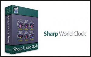 Sharp World Clock 9.3.7 Crack With License Key Free Download